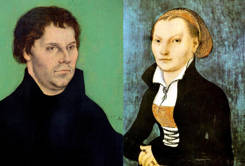 Image result for martin and katherine luther