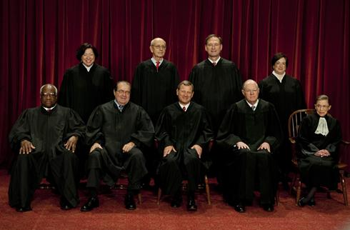 2011 Supreme Court Justices