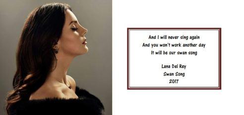 Lana Del Ray - Swan Song