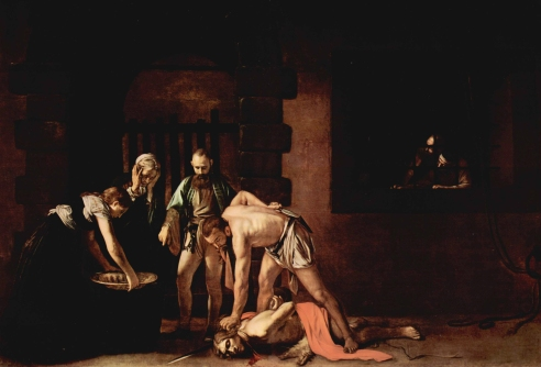 Caravaggio's The Beheading of St. John the Baptist