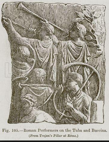 Roman Tuba and Buccina aka Cornu